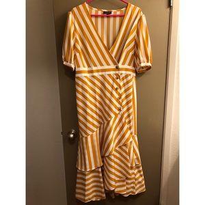 Topshop Marigold Stripe Dress